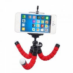 Mini statyw elastyczny z uchytem na telefon