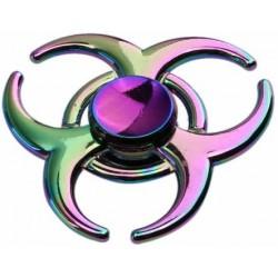 Fidget Spinner metalowy Rogi