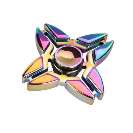 Fidget Spinner metalowy 4 ramienny Krab