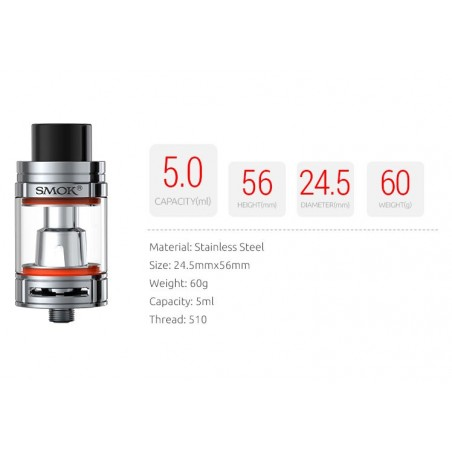SMOK TFV8 Big Baby Atomizer 5ml.