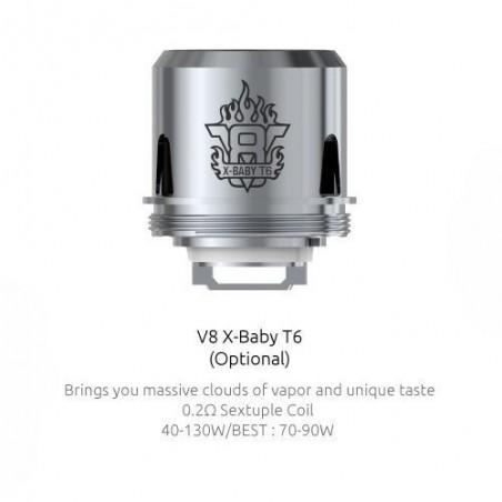 Grzałka SMOK X-Baby T6 - 0.2ohm