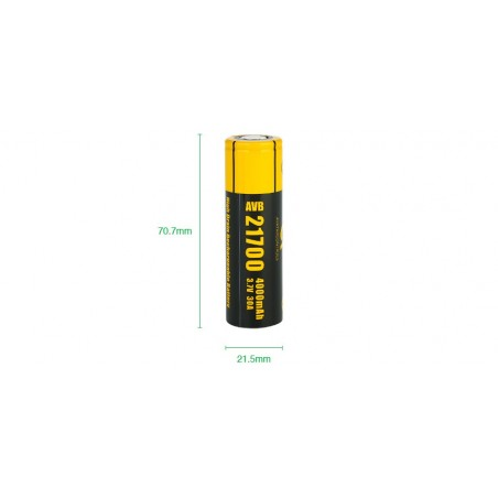 Eleaf iJust 21700 kit mod + akumulator
