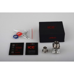 Atomizer Ice 3 Cubed Glass RDA klon